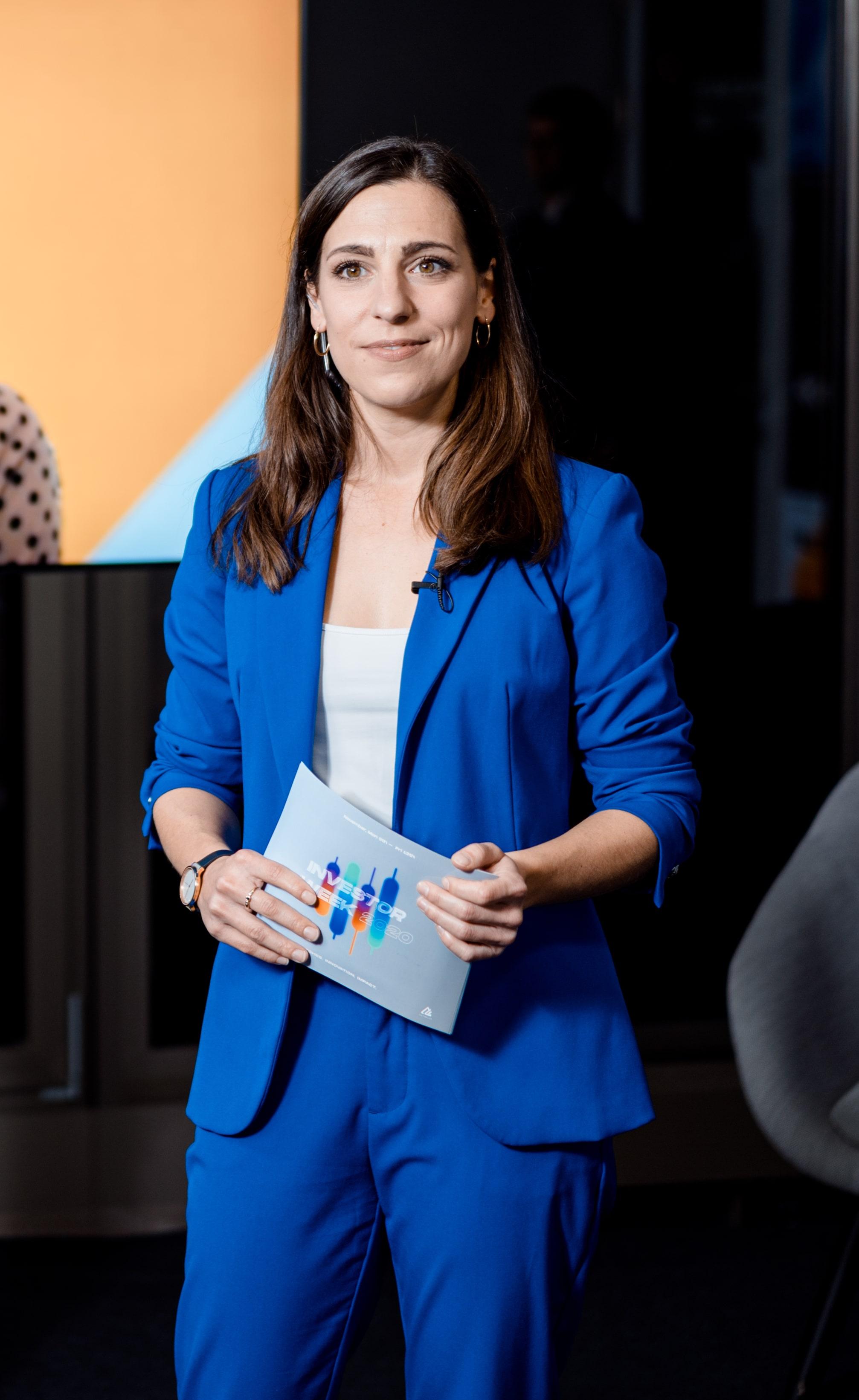 Moderatorin Linz